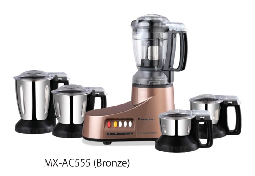 Panasonic MX-AC555 Super MIXER GRINDER 5 JARS MX-AC555 550 W Juicer Mixer Grinder